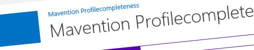 Mavention Profilecompleteness