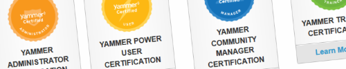 Passing the Yammer Administrator exam header image