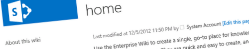 Office 365, Publishing Portal and Enterprise Wiki header image
