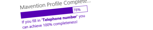 Update of Mavention Profile Completeness in the Office Store header image