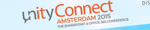 Presenting at Unity Connect Amsterdam 2015