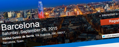 Speaking at SharePoint Saturday Barcelona