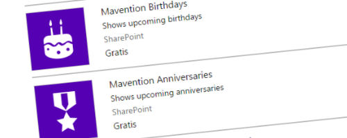 Mavention Anniversaries Spring 2016 Update