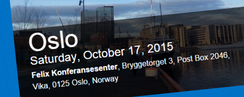 Speaking at SPSOslo2015 header image