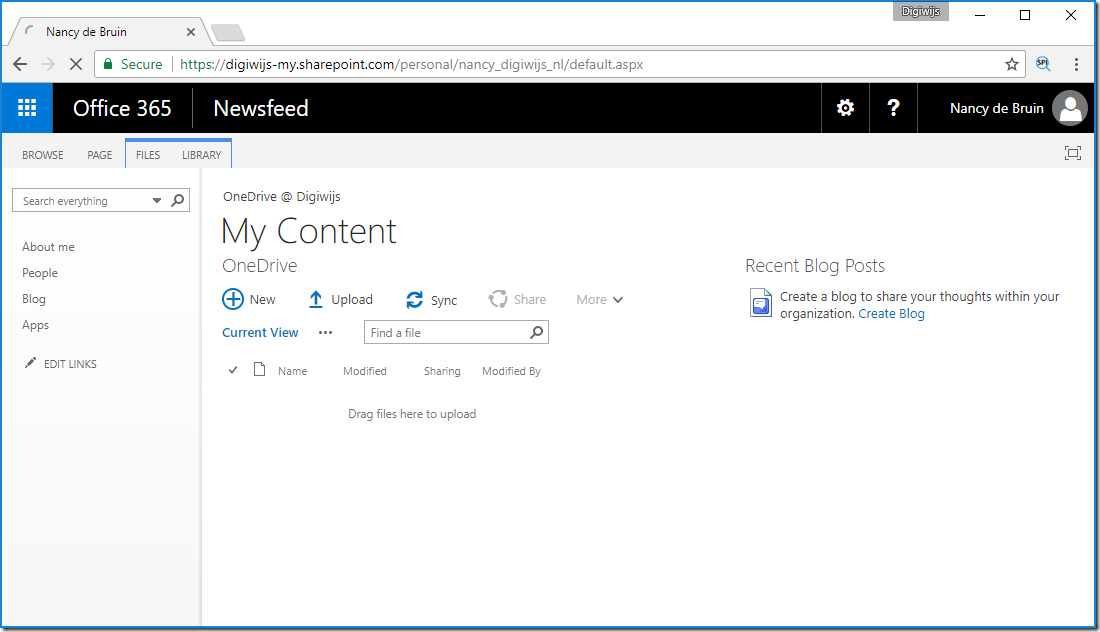 OneDrive My Site overview
