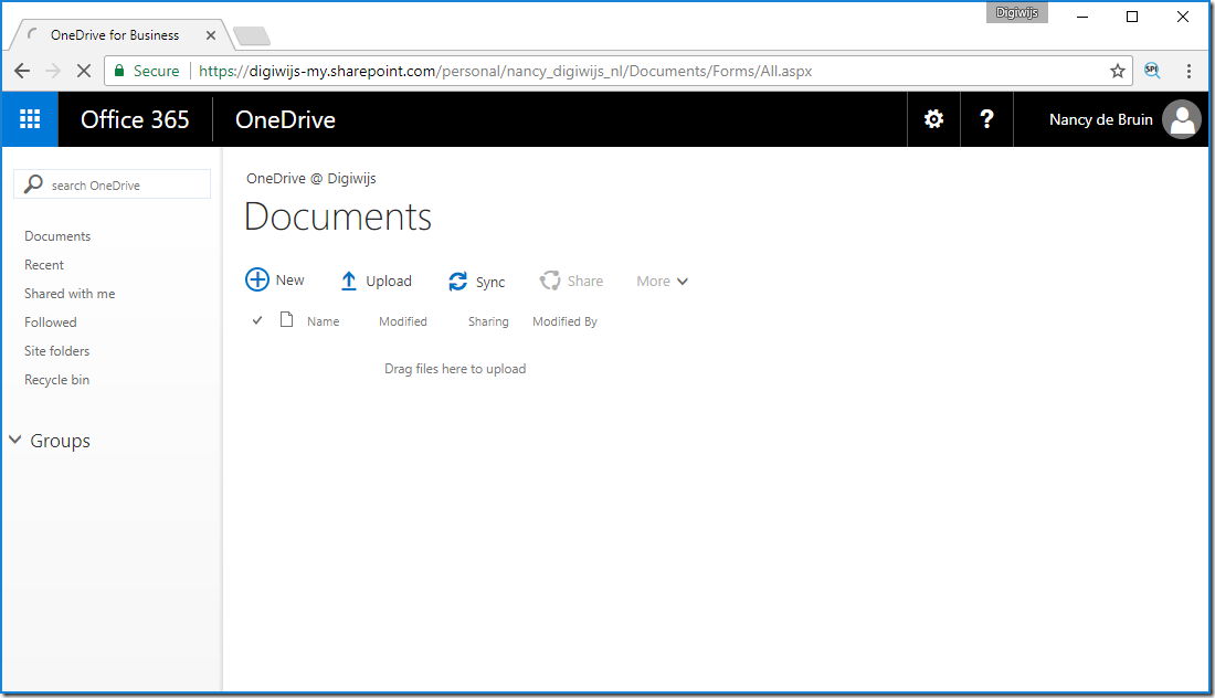 OneDrive Working again