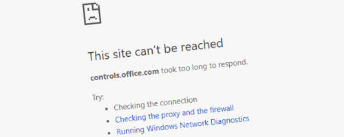 Office 365 JavaScript controls domain down
