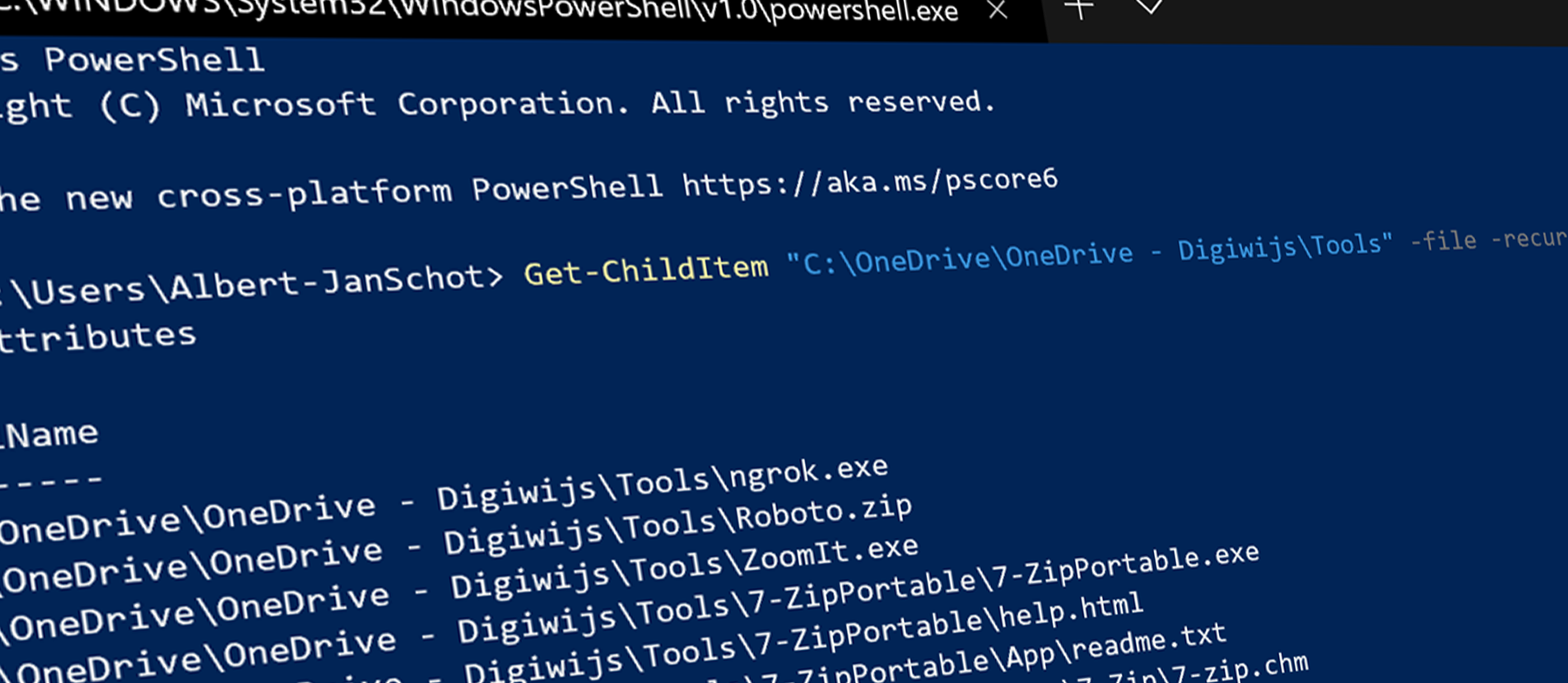 Use PowerShell to get your OneDrive Sync status header image